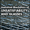 Statistical Mechanics of Unsatisfiability and Glasses